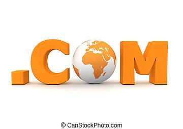 World Dot Com Orange