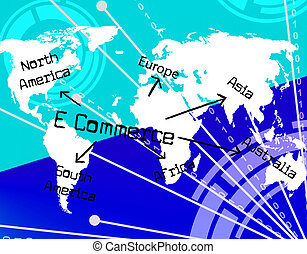 World E Commerce Means Globalise Selling And Company