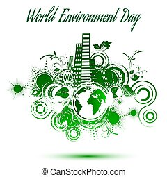 World environment day, abstract background