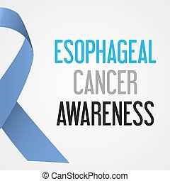 world esophageal cancer day awareness poster eps10
