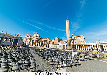World famous Saint Peter's square