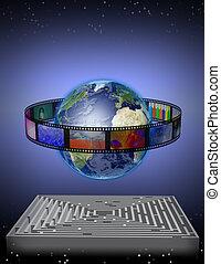 World Film with Maze