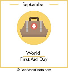 World First Aid Day, September