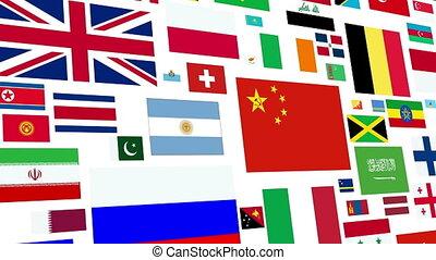 World Flag Loop