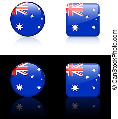 World flag series: Australia