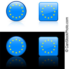 World flag series: European Union