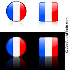 World flag series: France