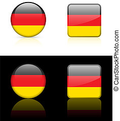 World flag series: Germany
