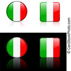 World flag series: Italy