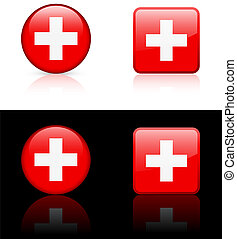 World flag series: Switzerland