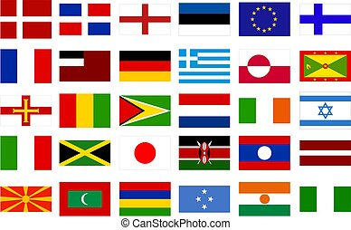 World Flags - collection 2