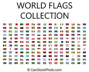 World flags collection