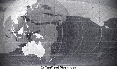 World global news background backdrop planet Earth old...