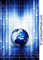 World globe action