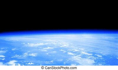 World globe atmosphere