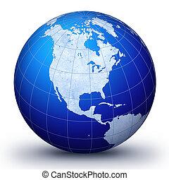 WorLd GloBe III - World globe - world illustration.World....