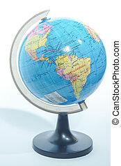 world globe isolated