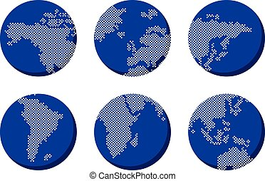 world globe map
