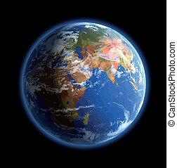 World globe. Vector