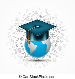 World hat graduate