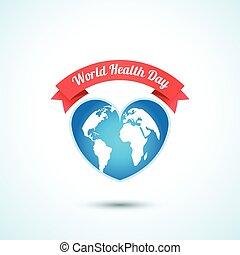 World Health Day concept. Vector illustration.