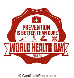 World health day stamp
