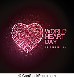World Heart Day Background