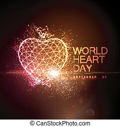 World Heart Day Background