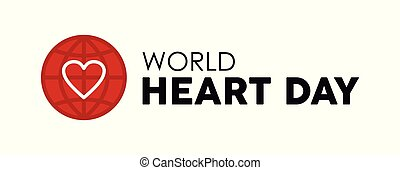 World Heart Day design for health care and love