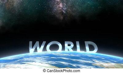 """world."""", horizont, """"earth, kilátás"""