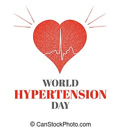 World hypertension day poster