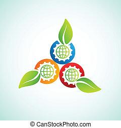 world industry energy icon