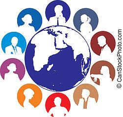 World internet network