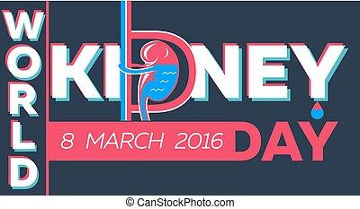 world kidney day Banner