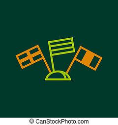 World launguages icon, outline style
