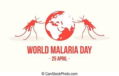 World Malaria Day Concept Style