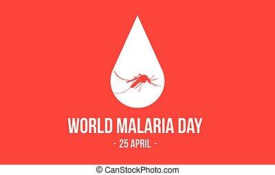 World Malaria Day Concept