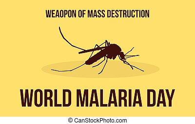 World Malaria Day Illustration Collection