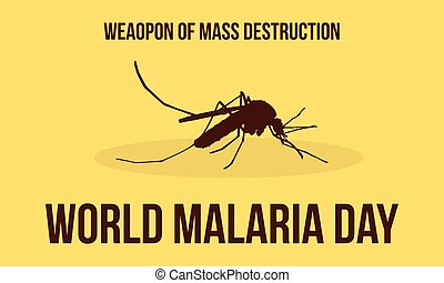 World Malaria Day Illustration Collection