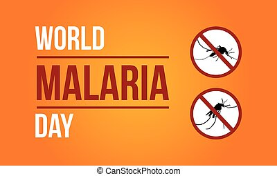 World Malaria Day Sign