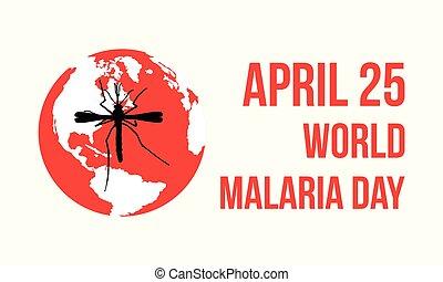 World Malaria Day style design