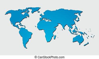 Vector header or banner world map background editable design for world map background vector gumiabroncs Gallery