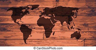 World Map Brand