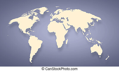 Background image with world map on concrete wall drawing search conceptual image with world map on concrete wall gumiabroncs Image collections