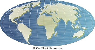 World Map - Map of the world.