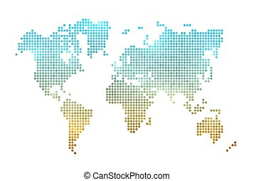 World map made of dots with banner background space for text clip world map made of dots gumiabroncs Choice Image