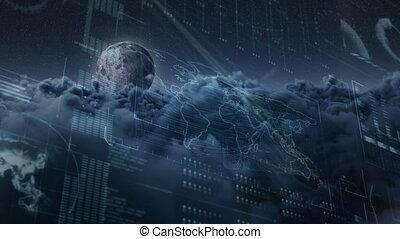 World map technology