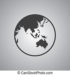 world map theme