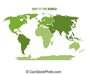 Dot style world map with continents vector search clip art world map with continents vector illustration gumiabroncs Images