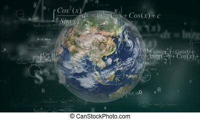 World Mathematics. A world full of mathematics, calculations...
